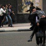Shima' al-Shabbagh setelah tertembak peluru (foto: Guardian)