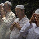 China's Hui Muslim Minority Attend First Friday Prayers Of Ramadan