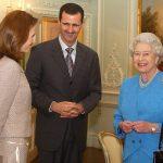 Bashar Assad- Asma Assad- Ratu Elizabeth