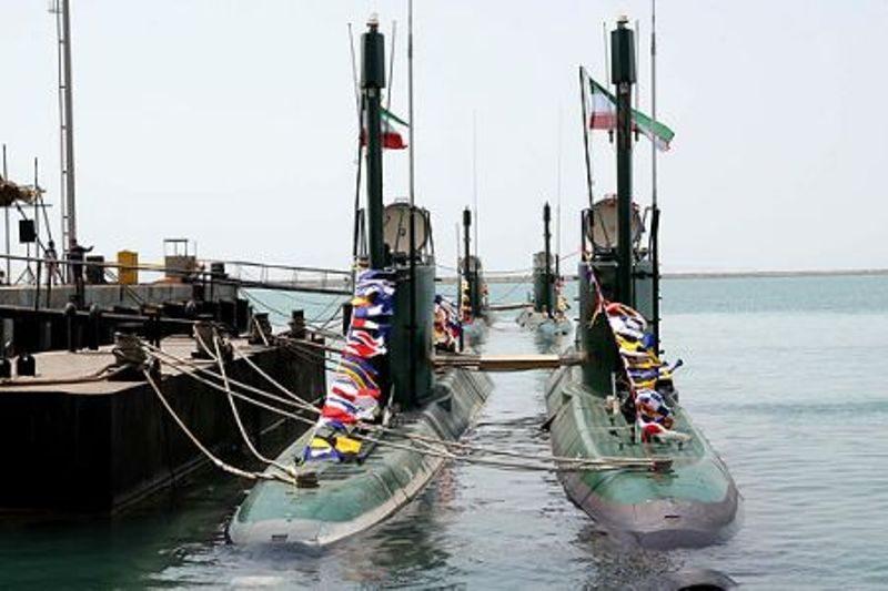 kapal selam midget iran