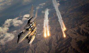 serangan jet tempur AS