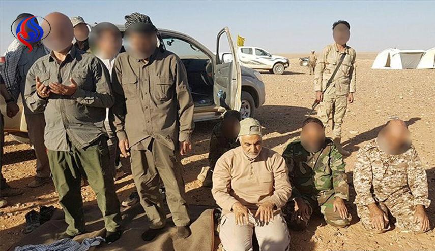 qasem soleimani di perbatasan suriah-irak