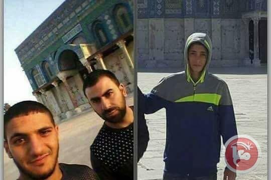 tiga pejuang palestina 14 juli 2017
