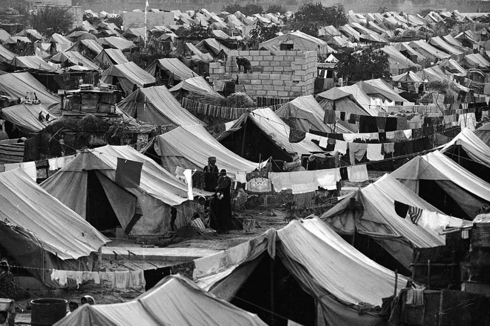 pengungsi palestina di suriah 1967