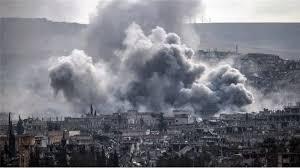 serangan di raqqa suriah