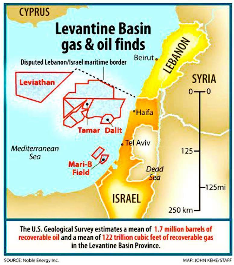 sumber gas Levantine - Suriah