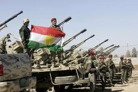 peshmerga dan bendera