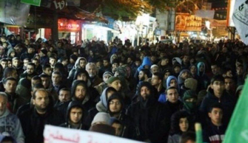 demo palestina thd trump soal al-quds