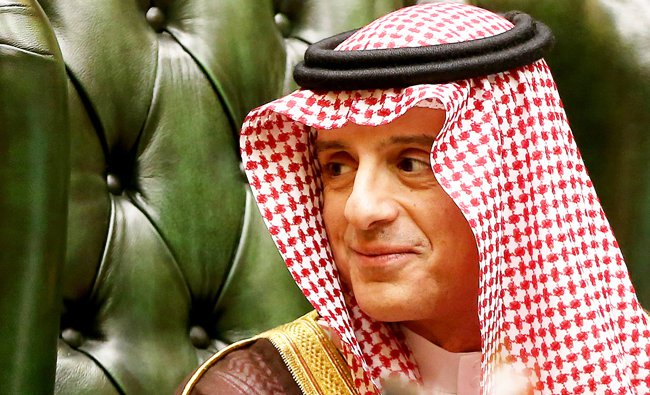 menlu saudi adel al-jubeir