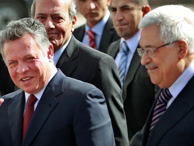 abdullah II dan mahmoud abbas