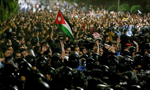 demo di amman yordania
