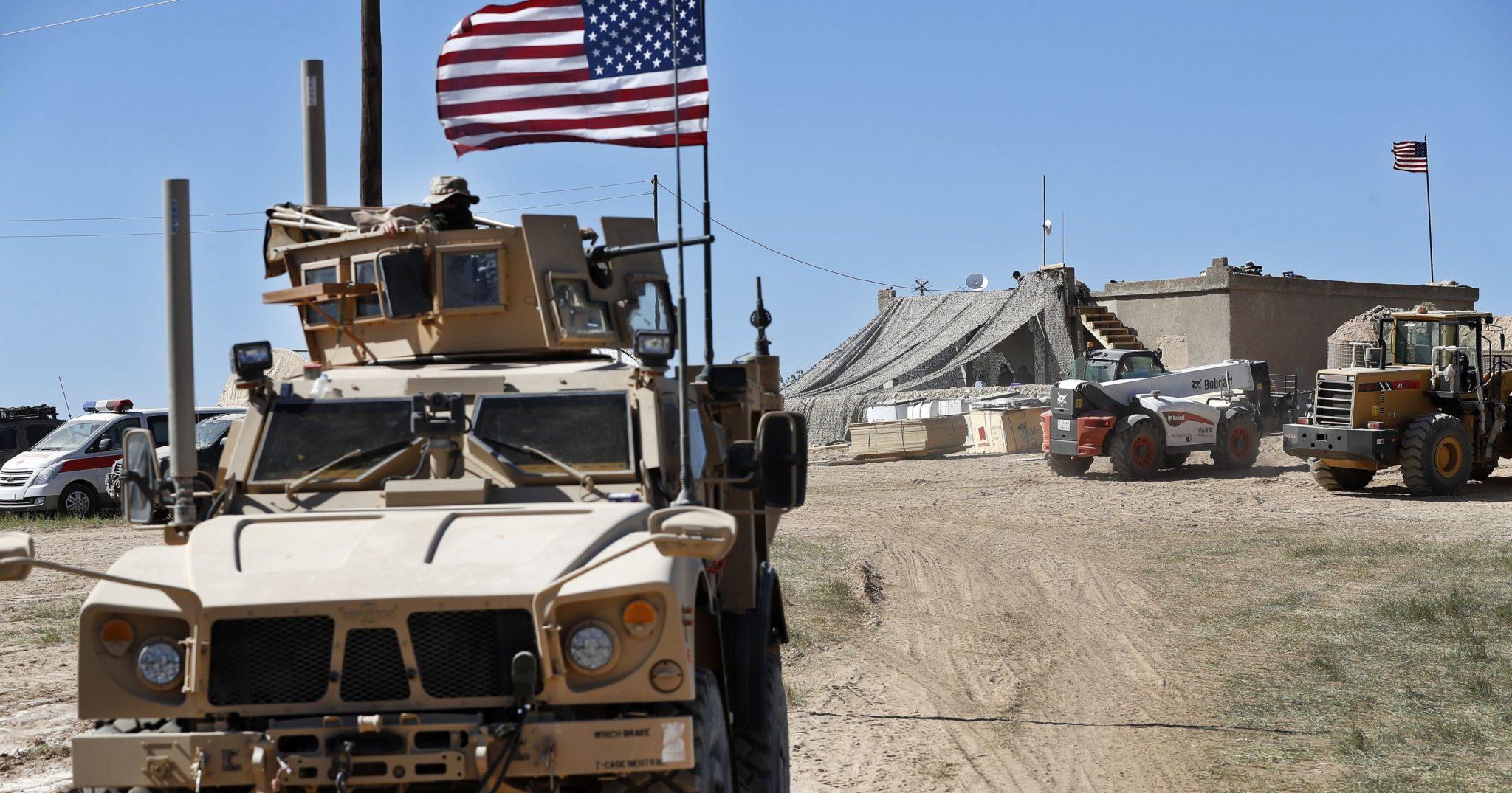 pasukan AS di Suriah