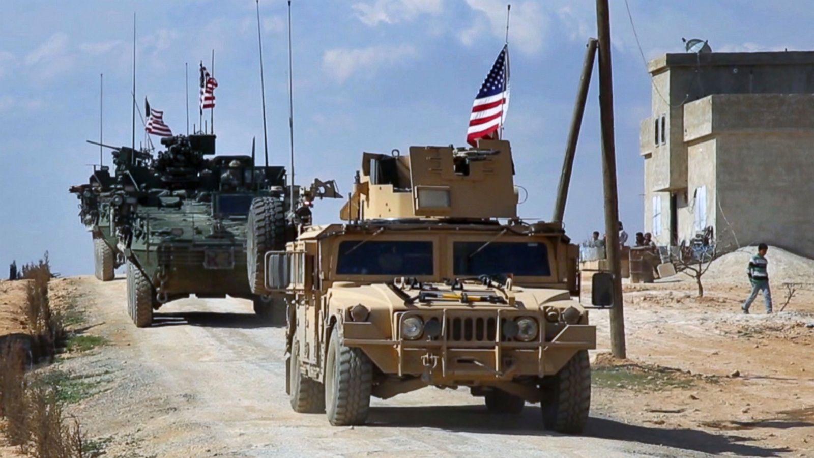 tentara AS di suriah