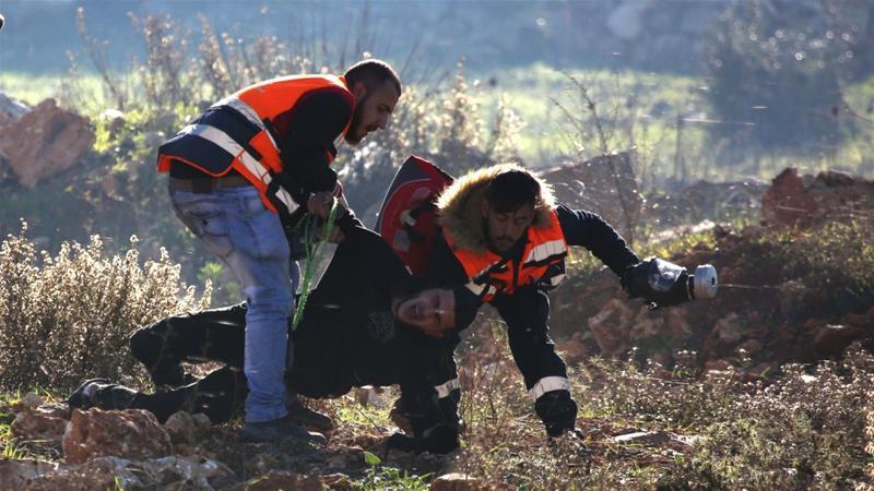 kekerasan israel di ramallah