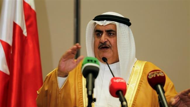 menlu bahrain Khalid bin Ahmed Al Khalifah