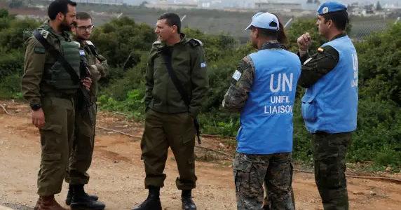 unifil dan tentara israel