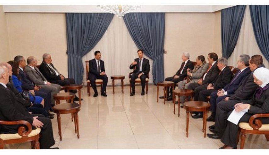 assad dan persatuan pengacara arab