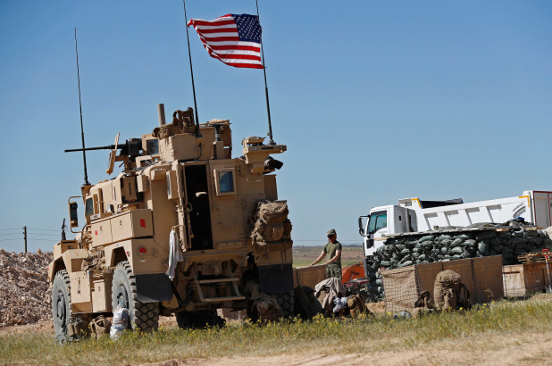 tentara AS di suriah utara