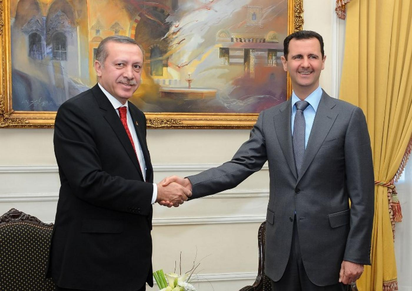 erdogan dan assad