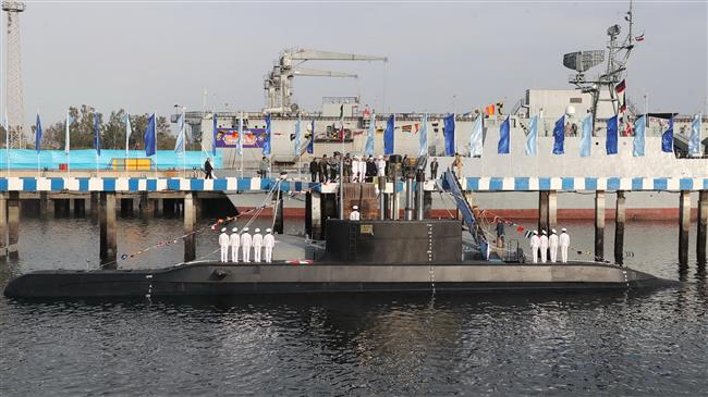 kapal selam fateh iran