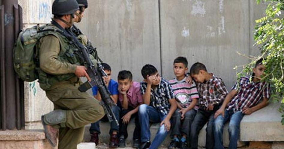 tentara israel dan anak palestina