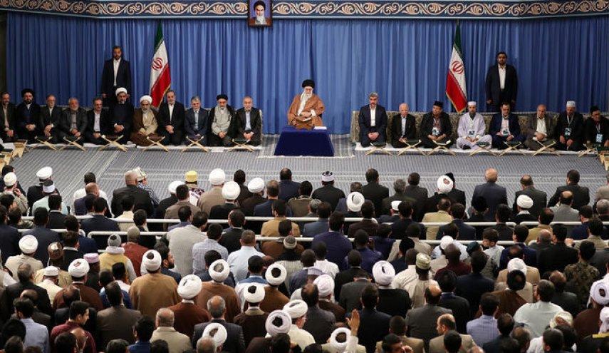 khamenei dan para qari