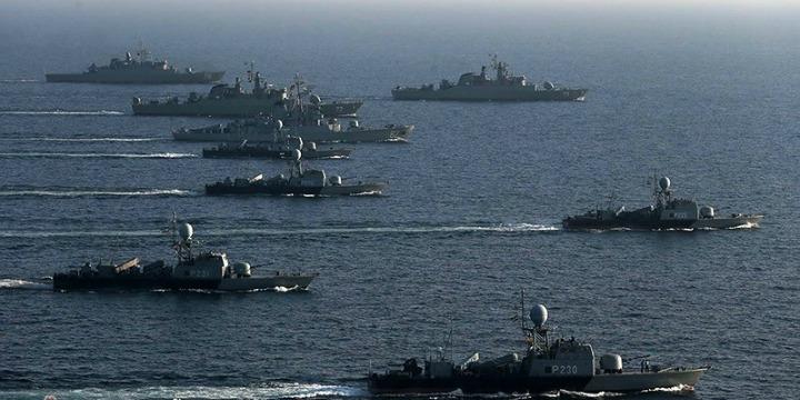 armada kapal perang iran