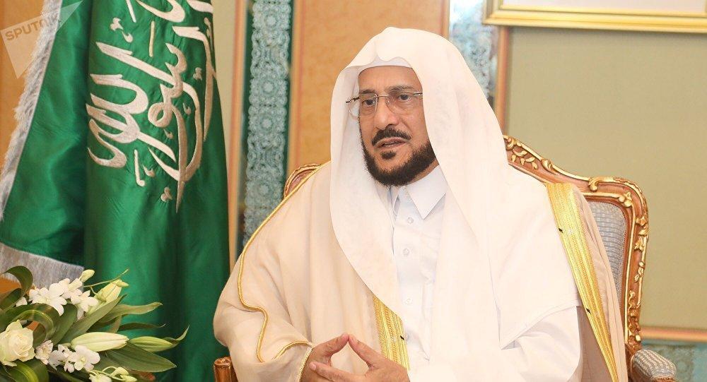 menteri urusan islam saudi abdul latif al-sheikh