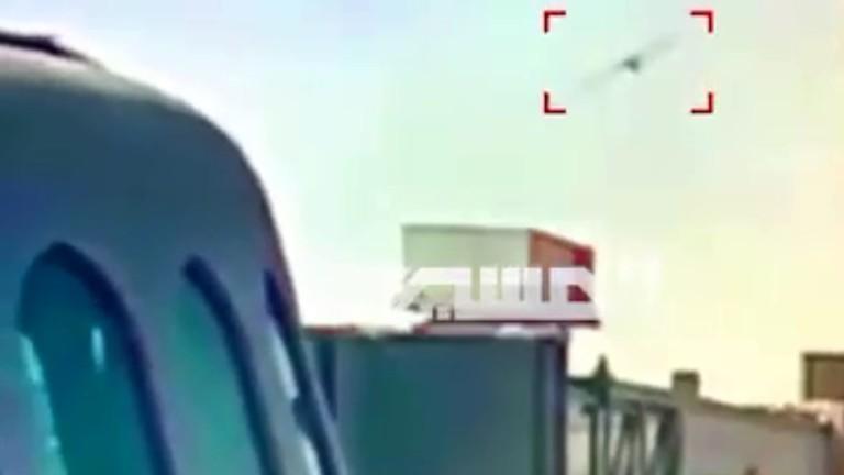 video serangan drone ansarullah ke saudi