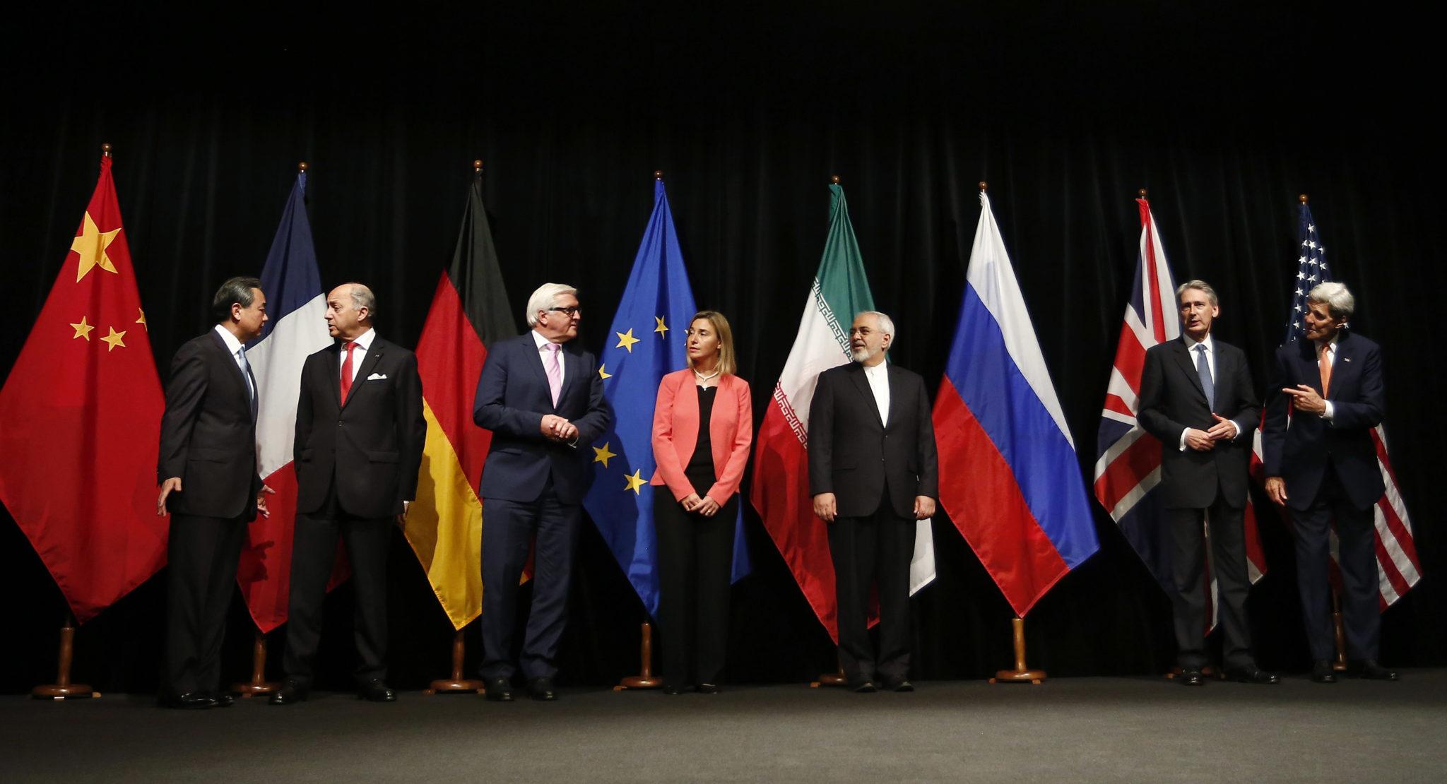Negara-negara penandatangan perjanjian nuklir Iran, JCPOA, sebelum AS keluar darinya.
