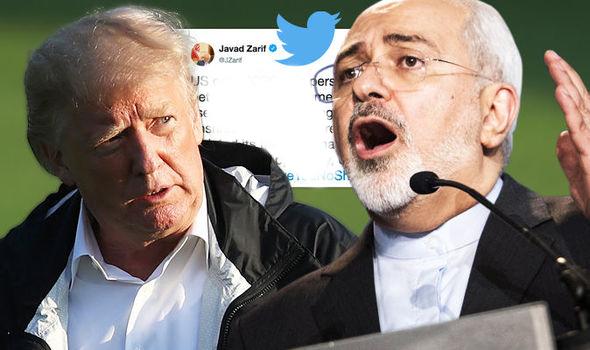 perang twitter Zarif-Trump