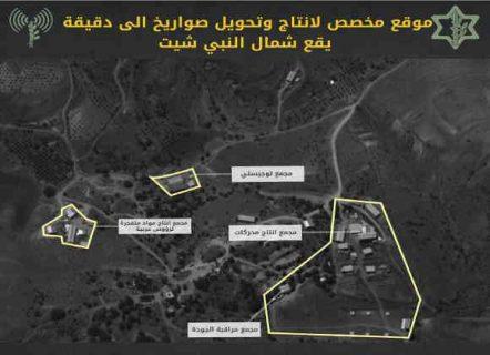 israel-situs rudal hizbullah