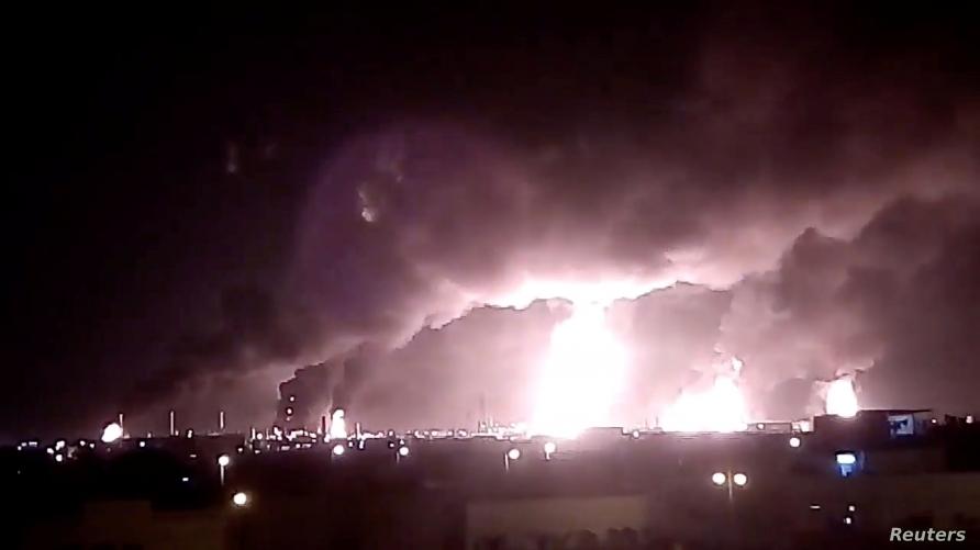 kebakaran pabrik minyak saudi2