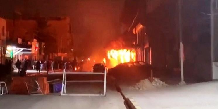 pembakaran di konsulat iran di najaf