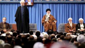 rouhani dan ayatullah khamenei