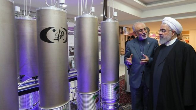 rouhani dan proyek nuklir iran