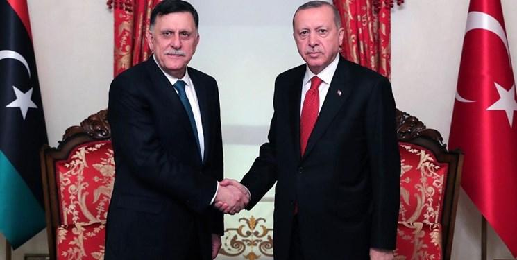 erdogan dan fayez al-sarraj