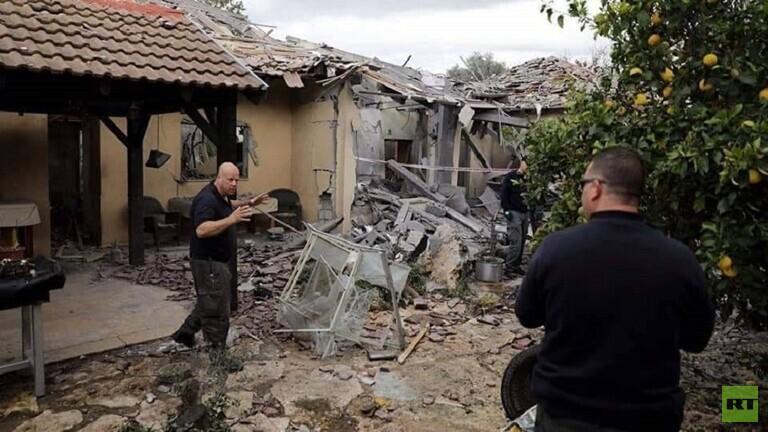 dampak serangan dari gaza 24-02-20
