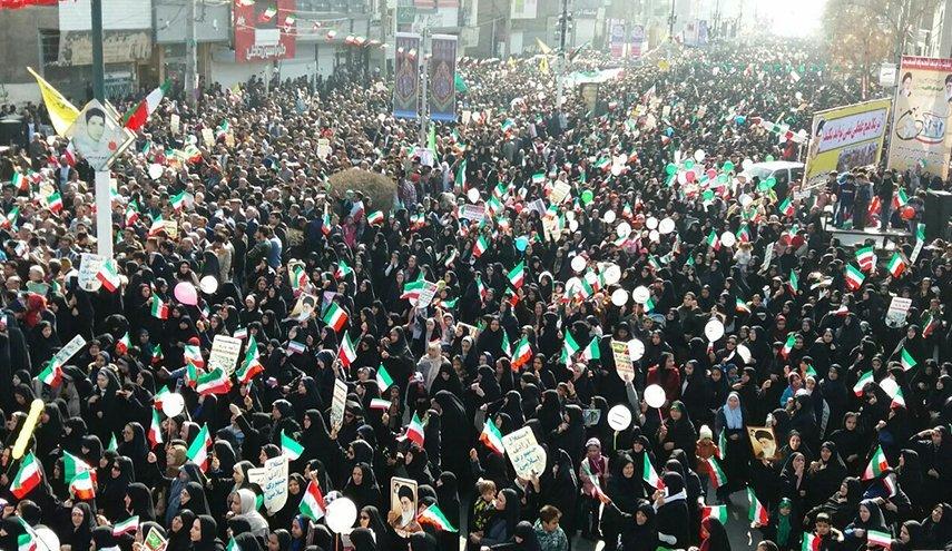pawai HUT-41 revolusi islam iran
