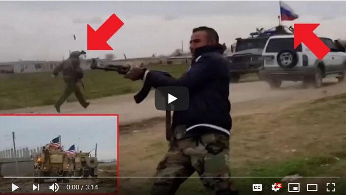 tentara AS diserang warga suriah2