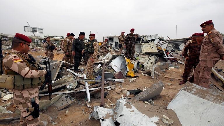 serangan udara AS di Irak maret 2020