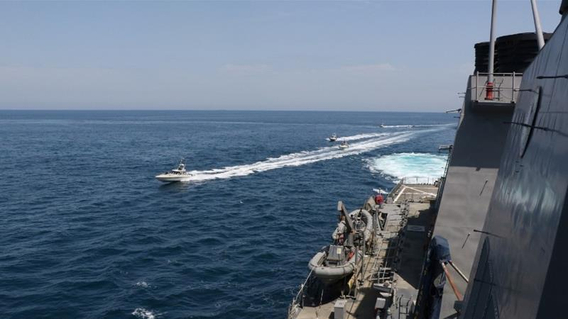 iran vs AS di Teluk Persia