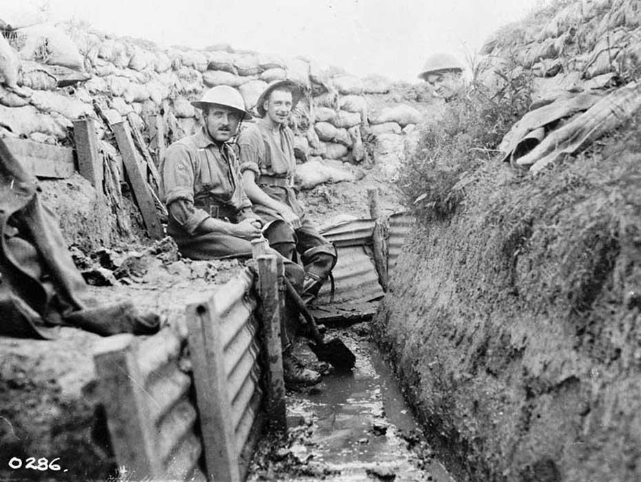 Parit (trench) dalam Perang Dunia I