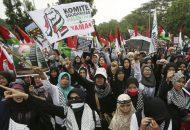 Peringatan Hari Al Quds di Jakarta 2018 (Foto: Associated PressAchmad Ibrahim)