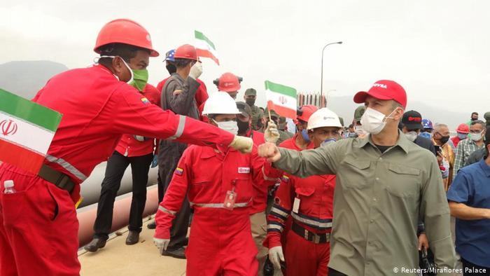Kapal tanker Iran di Venezuela
