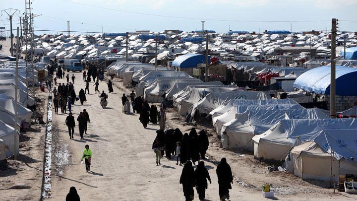 kamp pengungsi anggota  ISIS di Al Hawl (foto: Tempo)