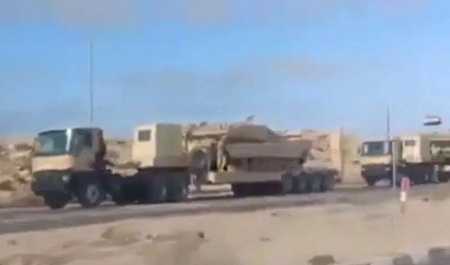 pasukan mesir ke libya