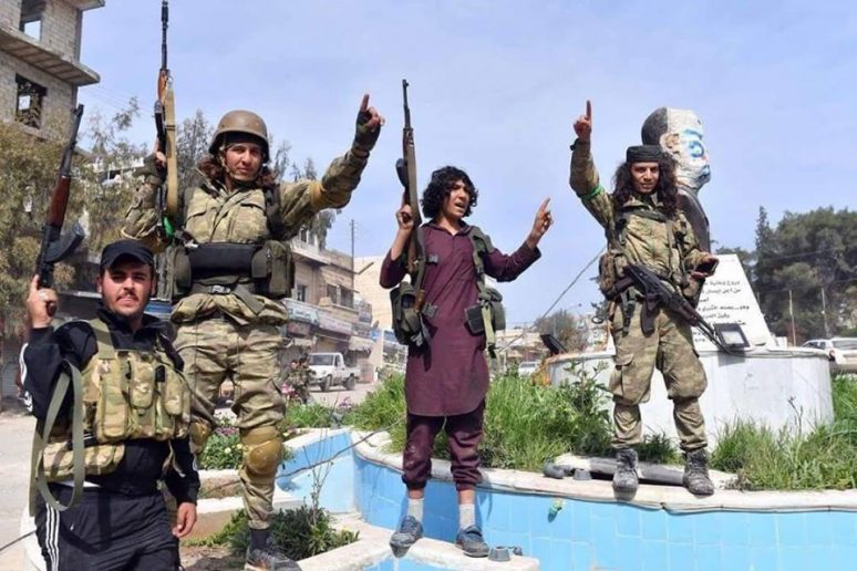 militan suriah bayaran turki