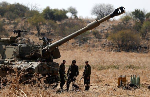 pasukan israel di utara