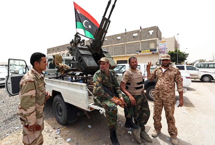 pasukan libya